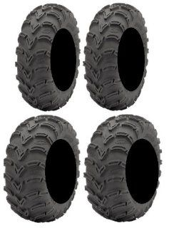 Full set of ITP Mud Lite (6ply) 25x8 12 and 25x10 12 ATV Tires (2) Automotive