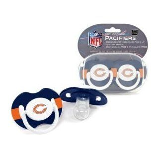 Chicago Bears NFL Baby Pacifier   2 Pack  Baby