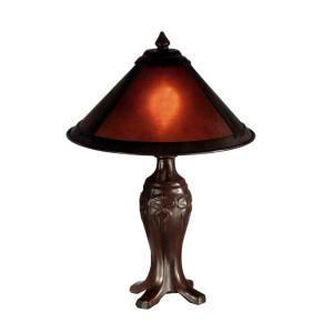 Dale Tiffany Mica 1 Light Antique Bronze Table Lamp DISCONTINUED STT11133