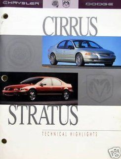 1995 Chrysler Cirrus/Dodge Stratus Technical Highlights