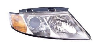 Depo 323 1129R ASD1 Kia Optima/Magentis Passenger Side Composite Headlamp Assembly with Bulb and Socket Automotive