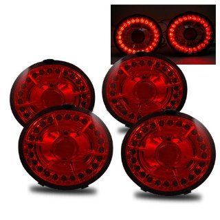 Chevy Corvette Red LED Tail Lights Automotive