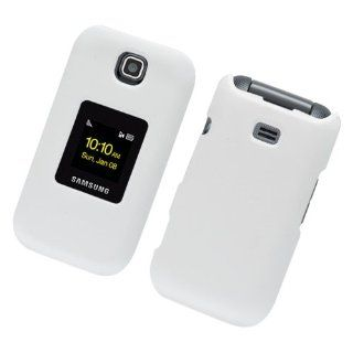 For Sprint Samsung M370 Accessory   White Hard Case Proctor Cover + Lf Stylus Pen Cell Phones & Accessories