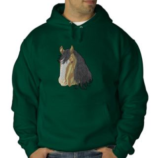 Shire Horse Embroidered Hoody