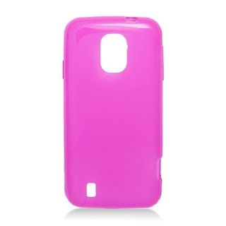 TPU Hot Pink Soft Cover Gel Skin Case For ZTE Source N9511 W/ Free Car Charger (StopAndAccessorize) Cell Phones & Accessories