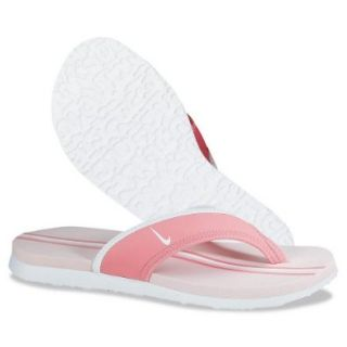 Nike Women's Celso Thong Plus (Coral Chalk/ Aluminum Pink/ White)   6 Shoes