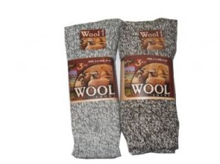 6 pairs mens extra thick wool socks Clothing