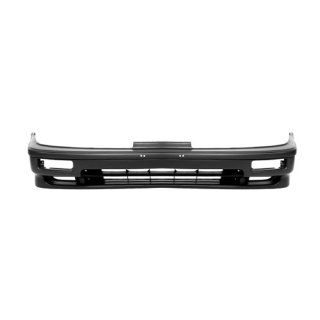 CarPartsDepot Black Front Bumper Cover Assembly Replacement Primed 2dr 4dr New, 352 10100 10 PM AC1000110 Automotive