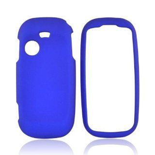 Blue Samsung T369 Rubberized Matte Hard Plastic Case Cover [Anti Slip]; Perfect Fit as Best Coolest Design Cases for T369 /Samsung Compatible with Verizon, AT&T, Sprint,T Mobile and Unlocked Phones Cell Phones & Accessories