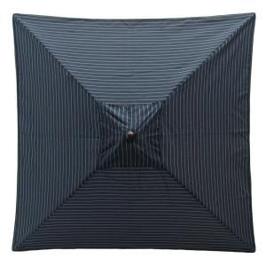 Hampton Bay 6 ft. Patio Umbrella in Midnight Stripe 9606 01003200