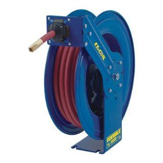 Coxreels EZ SH 375 Heavy Duty Safety Air/Water Hose Reel with Hose, 3/8 Hose ID, 75' Length Air Tool Hose Reels