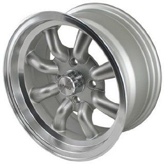 15x7 Konig Rewind (Silver w/ Machined Lip) 4x110 +20 Set of 4 Wheels Automotive
