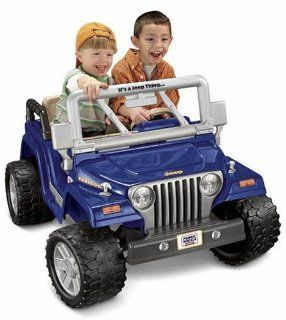 Power Wheels Jeep Wrangler Rubicon Toys & Games