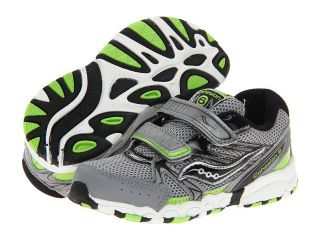 Saucony Kids Baby Cohesion 6 HL Boys Shoes (Gray)