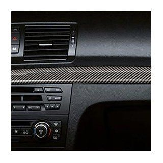 BMW 51 16 0 442 907 Carbon Fiber Interior Trim for Vehicles without Navigation Carbon Fiber Center Console Trim Automotive