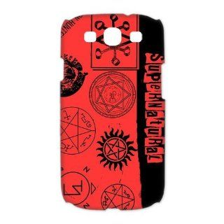Custom Supernatural 3D Cover Case for Samsung Galaxy S3 III i9300 LSM 3404 Cell Phones & Accessories