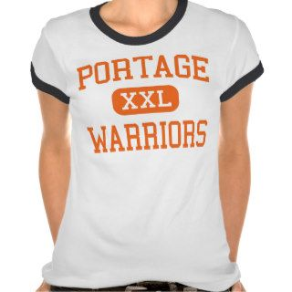 Portage   Warriors   Senior   Portage Wisconsin T shirts