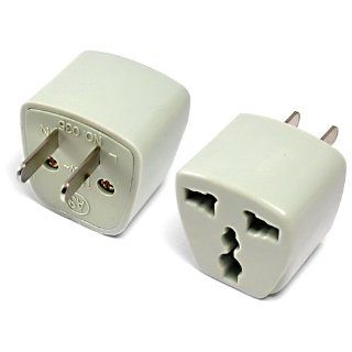 BoxWave Universal to American Outlet Plug Adapter   Electrical Multi Outlets
