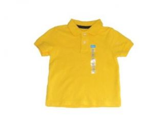 Infant and Toddler Boys   Children's Place Solid Classic Pique Polo Shirts (24 Months, Yellow Corn) Clothing
