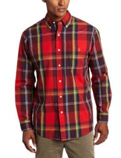 U.S. Polo Assn. Men's Shirt With Large Plaid Pattern at  Men�s Clothing store