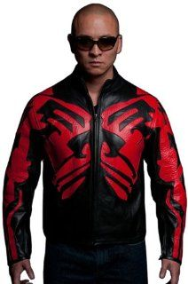 UD Replicas Darth Maul Leather Caf� Racer Star Wars Movie Replica Motorcycle Jacket, X Small Toys & Games