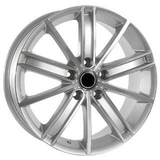 17 Inch Silver Volkswagen Wheels Rims EOS Jetta GTI Golf CC Automotive