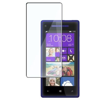 CommonByte For HTC Windows Phone 8X Clear Guard Film LCD Screen Protector Cover Cell Phones & Accessories