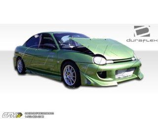 1995 1999 Dodge Neon 4DR Duraflex Blits Body Kit   4 Piece   Includes Blits Front Bumper Cover (101551) Buddy Rear Bumper Cover (101550) Buddy Side Skirts Rocker Panels (101547) Automotive