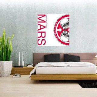 "30 Seconds to Mars Beautiful Lie Wall Graphic Decal Sticker 23"" x 23""   Wall Decor Stickers"