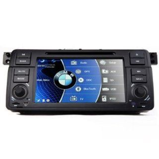 ProAuto In Dash Car DVD Player For BMW 3 series E46 1998 2006 with GPS Navigation Radio (Map free) Bluetooth/PIP/3D/Ipod/Steering wheel control  Vehicle Dvd Players   Players & Accessories