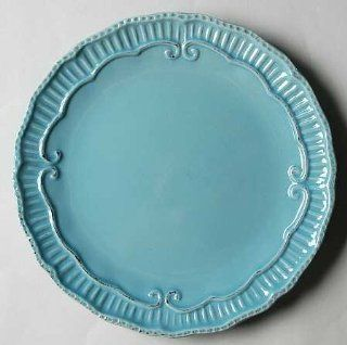 Home Accents Capri Aqua Salad Plate, Fine China Dinnerware Kitchen & Dining