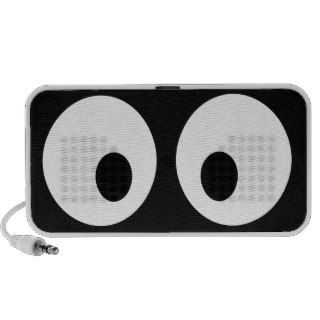 Big Googly Eyes Notebook Speaker