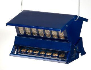 Heritage Farms Electric Blue Absolute II Squirrel Proof Bird Feeder  Wild Bird Feeders  Patio, Lawn & Garden