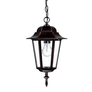 Acclaim Lighting Camelot Collection 1 Light Outdoor Architectural Bronze Hanging Lantern 6116ABZ