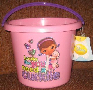 Disney Doc Mcstuffin Pink Easter Plastic Bucket Beach Toys & Games