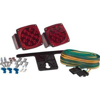 "Blazer C7421 LED Submersible Trailer Light Kit for Trailers Under 80"" Wide 1 pair Garden, Lawn, Supply, Maintenance  Lawn And Garden Spreaders  Patio, Lawn & Garden"