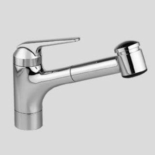 KWC America 10.061.033.102 Domo Pull Out Spray Faucet, White   Touch On Kitchen Sink Faucets