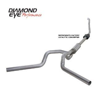 "'94 '97.5 Ford Super Duty Powerstroke 7.3L F250/F350, 4"" Aluminized Turbo Back Dual Exhaust   Off Road Automotive"