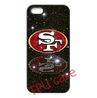 iPhone accessories iPhone 5/5s TPU Cases 49ers logo label by hiphonecases Cell Phones & Accessories