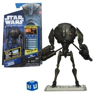 "Star Wars The Clone Wars Animated 3 3/4"" Super Battle Droid Action Figure Toys & Games"