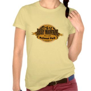 Rocky Mountains National Park, Colorado Shirts