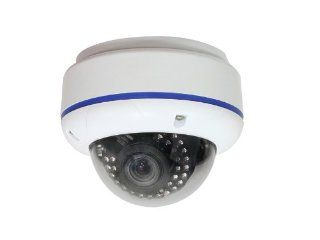 "IC Realtime EL 470 Elite Night Vision Dome Camera, 1/3"" Sony Super HAD CCD, High Resolution Color   600TV Lines / B/W   630 TV Lines, Built   In Next Generation 3D DNR with 3D Filter, Convenient OSD Control Function, NTSC 768 H x 494 V / PAL 752 H x 5"