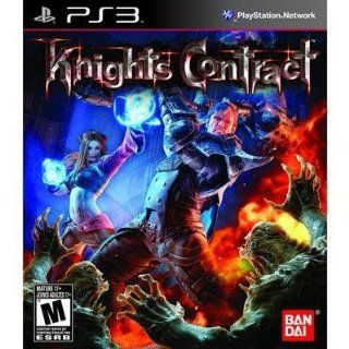 New Namco Knights Contract Action Adventure Game Medieval Style Intense Violence Supports Ps3 Video Games