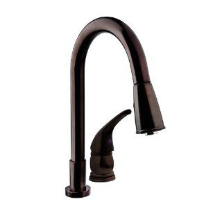 DF NMK503 VB   Pull Down RV Kitchen Faucet with Side Lever  Venetian Bronze Finish For RV's, Motorhomes, 5th Wheels, Travel Trailers, and Towables   Lifetime Warranty Automotive