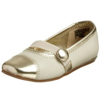 Kenneth Cole REACTION Toddler/Little Kid Wave Heart 2 Ballet Flat, Ivory, 5 M US Toddler Flats Shoes Shoes