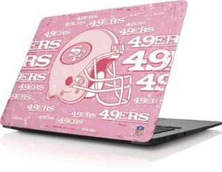NFL   San Francisco 49ers   San Francisco 49ers   Blast Pink   Apple MacBook Air 13 (2010 2013)   Skinit Skin Computers & Accessories