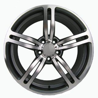 "19"" BMW M6 STYLE STAGGERED WHEELS RIMS FOR BMW 525, 528, 530, 535, 540, 545 Automotive"