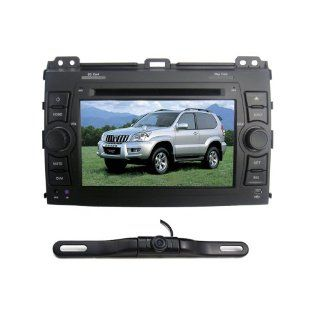 "Bluelotus� for Toyota Prado 2008 In dash 7"" Touchscreen DVD GPS Navigation Tv Radio Bluetooth RDS Sd/usb Ipod Av + Reverse Car Rear Camara + Free USA Map  In Dash Vehicle Gps Units  GPS & Navigation"