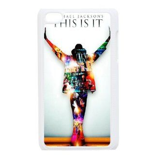 Customize Michael Jackson Case for Ipod Touch 4 Cell Phones & Accessories