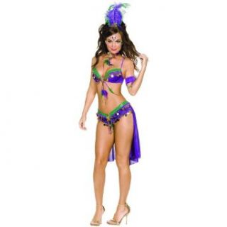Dreamgirl Women's Mardi Gras Costume Clothing